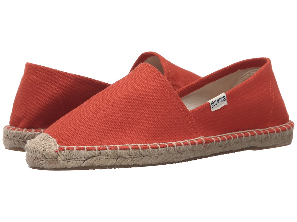 Soludos - Original Dali (Tangerine Red) Women's Shoes