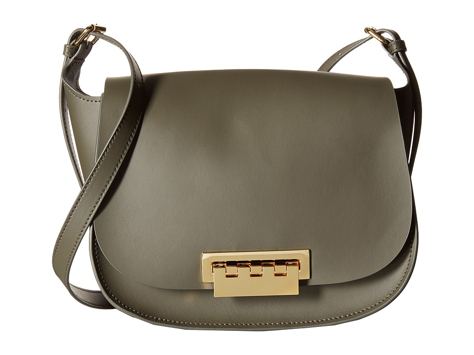 ZAC Zac Posen - Eartha Iconic Saddle (Olive) Cross Body Handbags