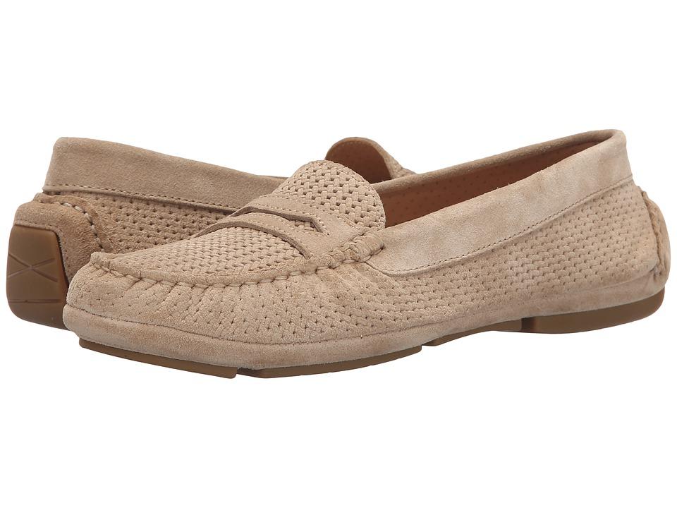 Aquatalia - Sawyer (Sand Suede) Women's Slip on Shoes