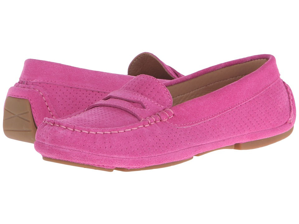 Aquatalia - Sawyer (Fuchsia Suede) Women's Slip on Shoes