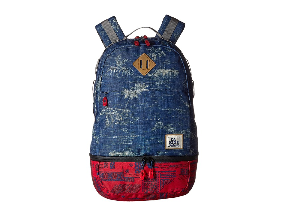 Dakine - Interval Wet/Dry Backpack 24L (Tradewinds) Backpack Bags