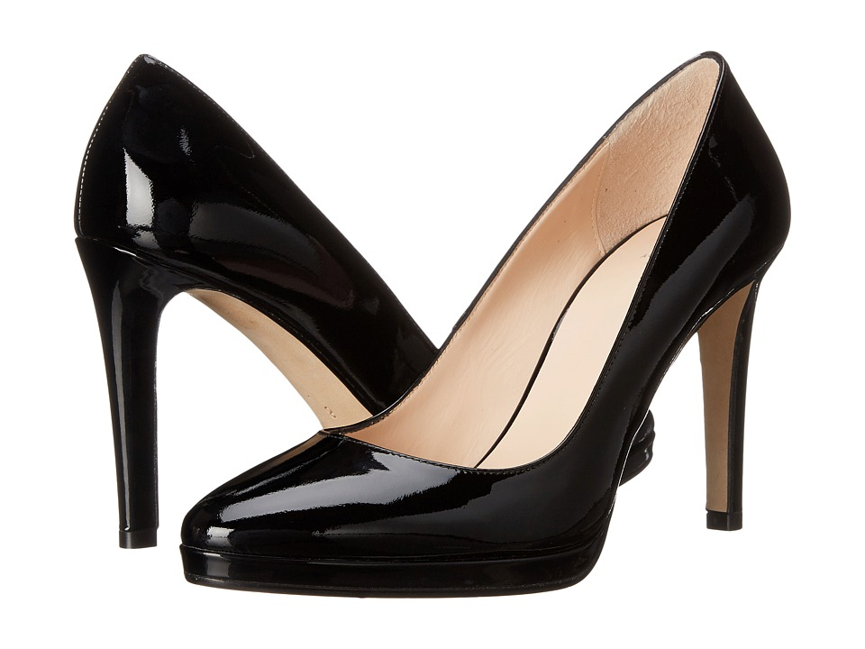 Aquatalia - Unicia (Black Patent) High Heels