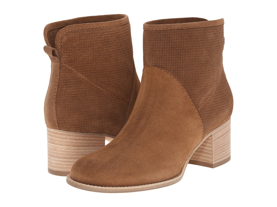 Aquatalia - Tricia (Bark Suede/Check Suede) Women's Pull-on Boots