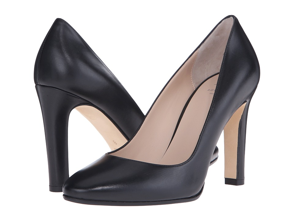 Aquatalia - Theresa (Black Anil Calf) High Heels