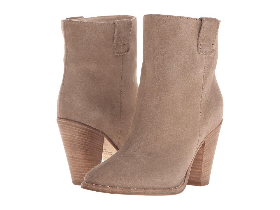 Aquatalia - Flo (Mushroom Suede) Women's Pull-on Boots
