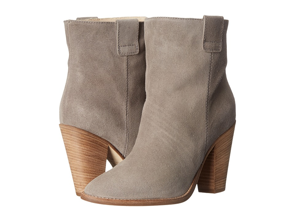 Aquatalia - Flo (Grey Suede) Women's Pull-on Boots