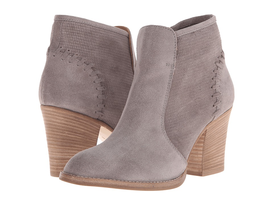 Aquatalia - Fern (Grey Suede/Check Suede) Women's Zip Boots