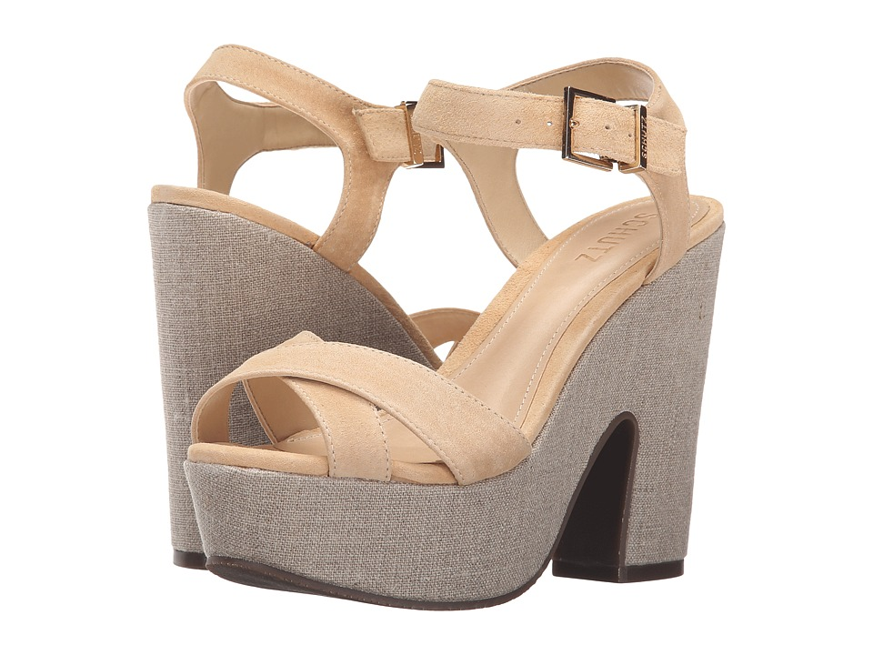 Schutz - Noreen (Light Wood) Women's Wedge Shoes