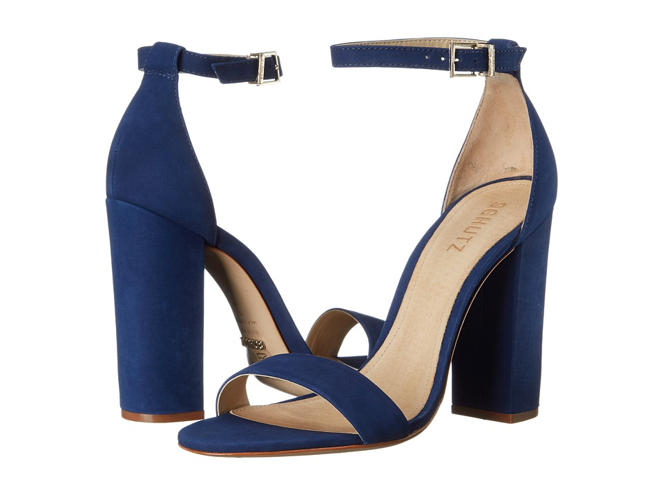 Schutz Enida (Dress Blue) High Heels