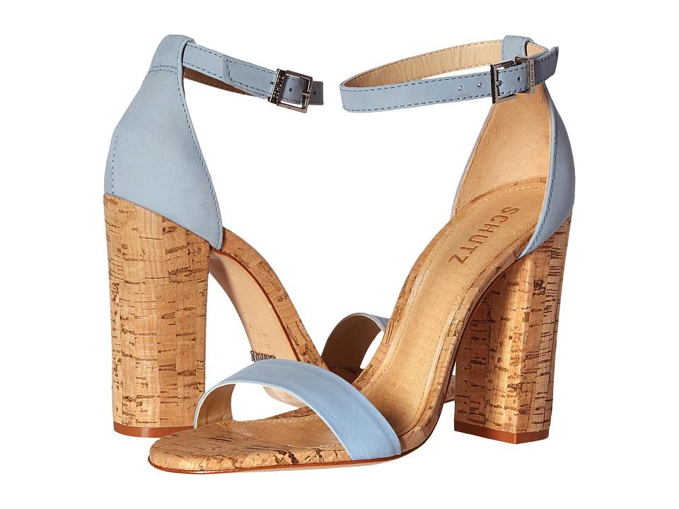 Schutz Enida (Jeans) High Heels