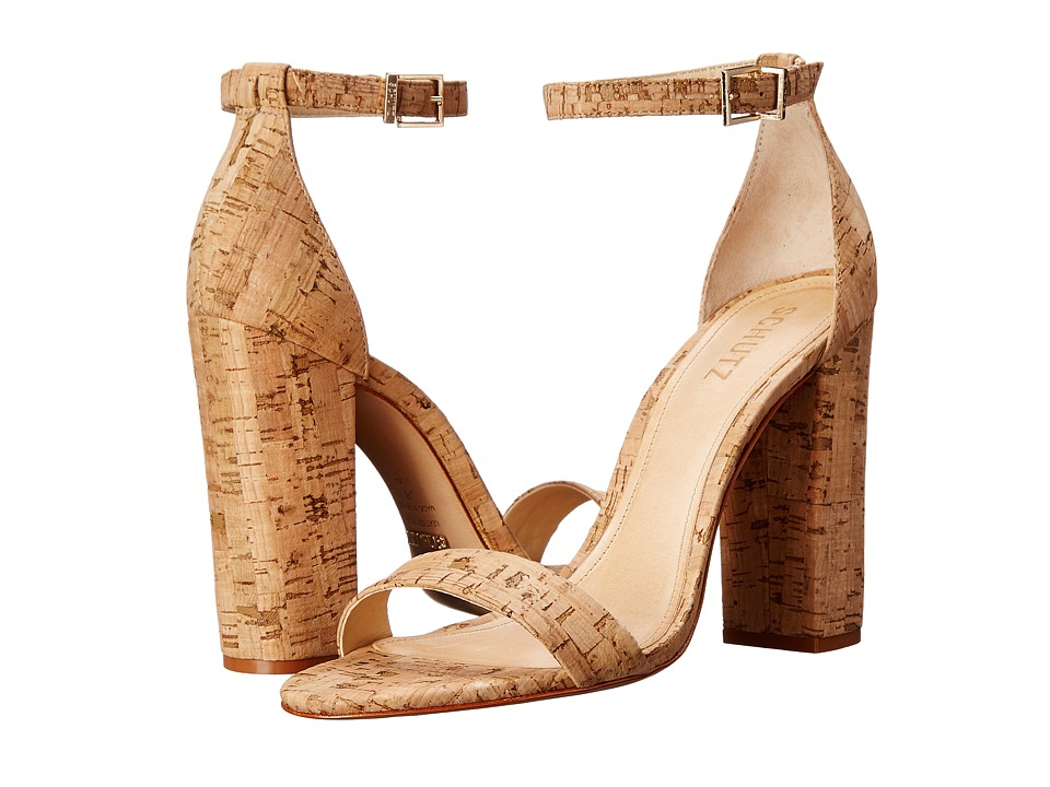 Schutz - Enida (Natural) High Heels