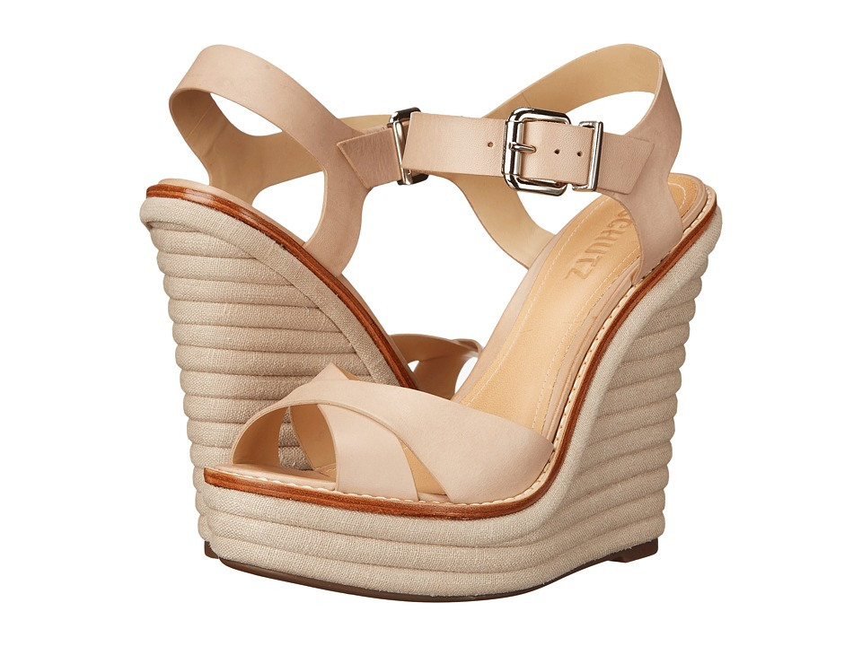 Schutz - Francine (Oyster) Women's Wedge Shoes
