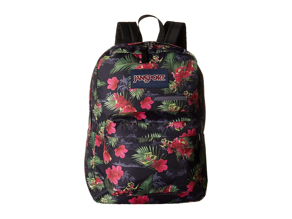 JanSport - Digibreak (Multi Hot Tropic) Backpack Bags
