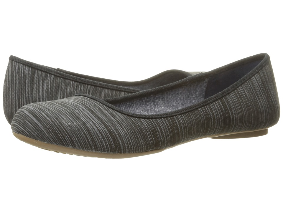 Dr. Scholl's - Friendly (Black Harmony Stripe) Women's Flat Shoes