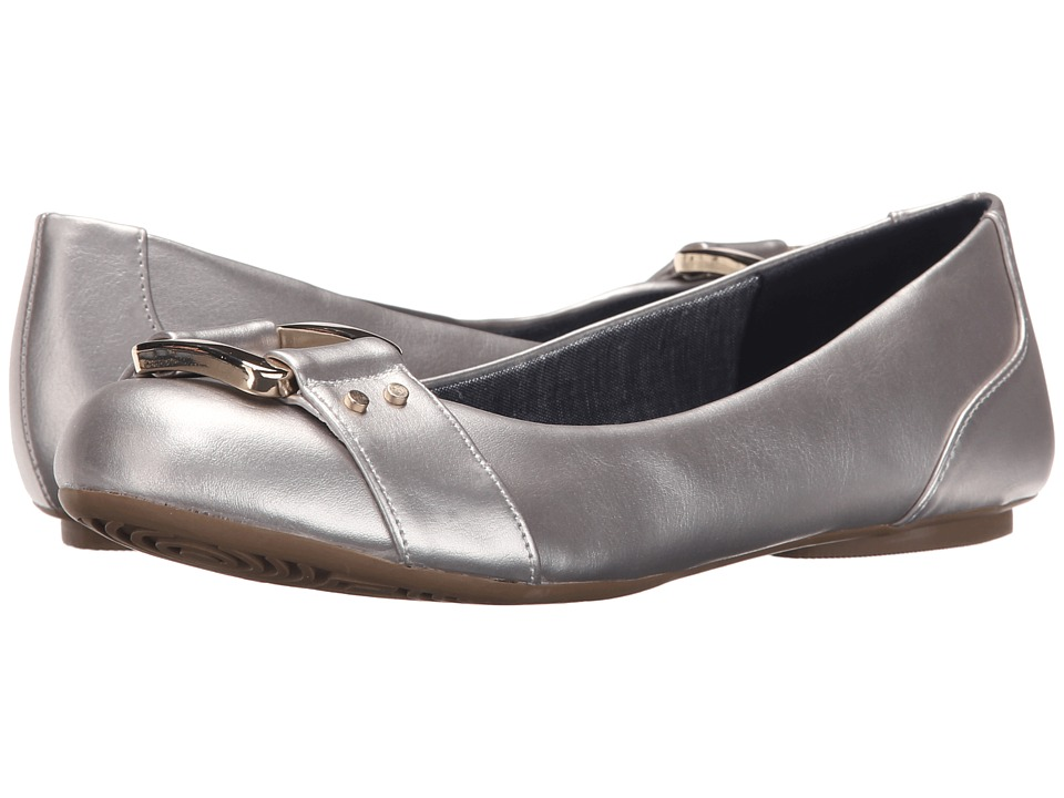 Dr. Scholl's - Frankie (Silver) Women's Flat Shoes