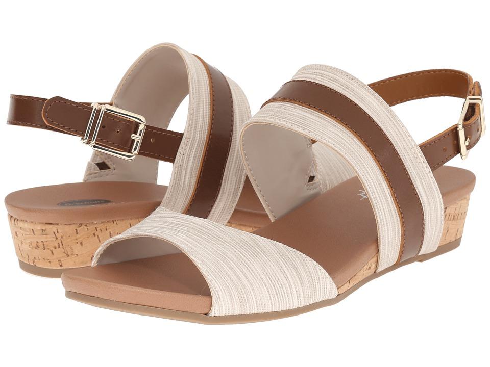 Dr. Scholl's - Minka (Dark Saddle/Smoke Harmony Stripe) Women's Shoes