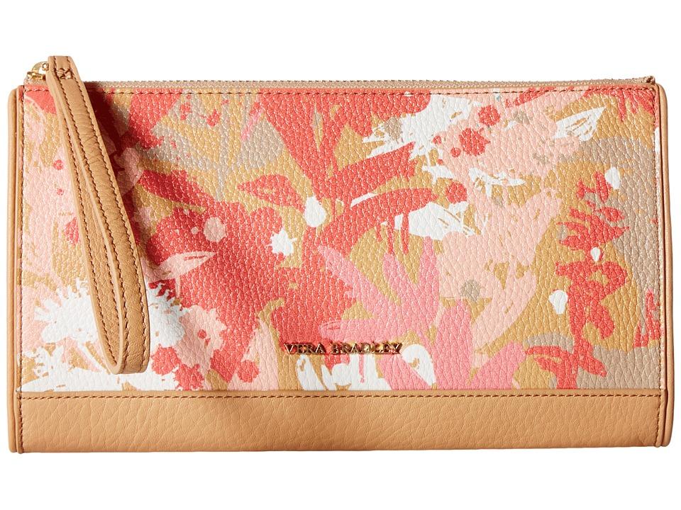 Vera Bradley - Anna Wristlet (Camofloral Nude) Wristlet Handbags