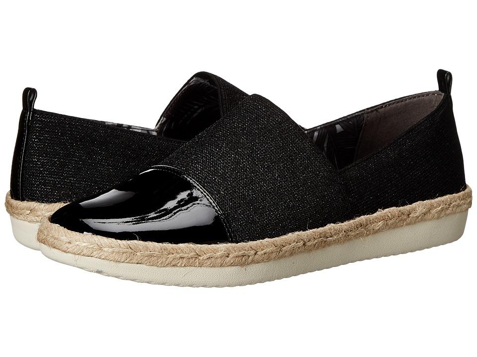 Easy Spirit - Ordell (Black/Black Fabric) Women's Shoes