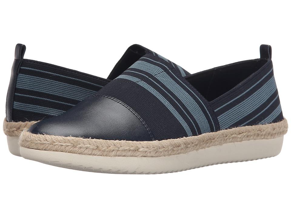 Easy Spirit - Ordell (Navy Multi/Navy Fabric) Women's Shoes