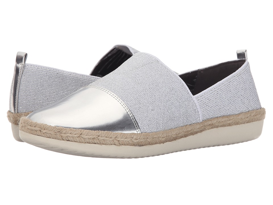 Easy Spirit - Ordell (Silver/Silver Fabric) Women