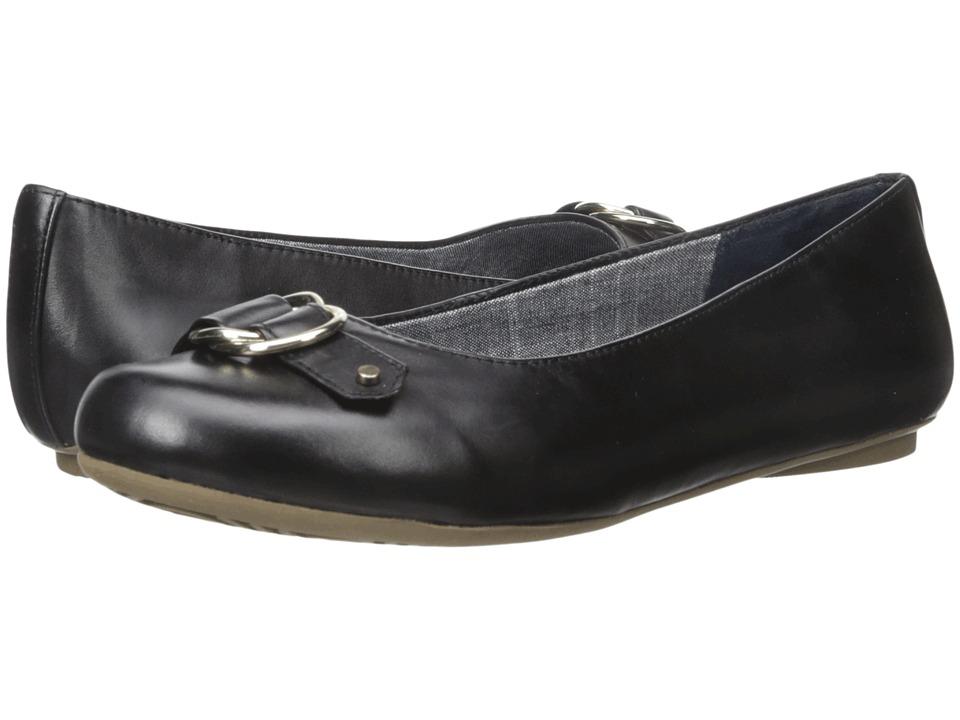 Dr. Scholl's - Felissa (Black Leather) Women's Shoes