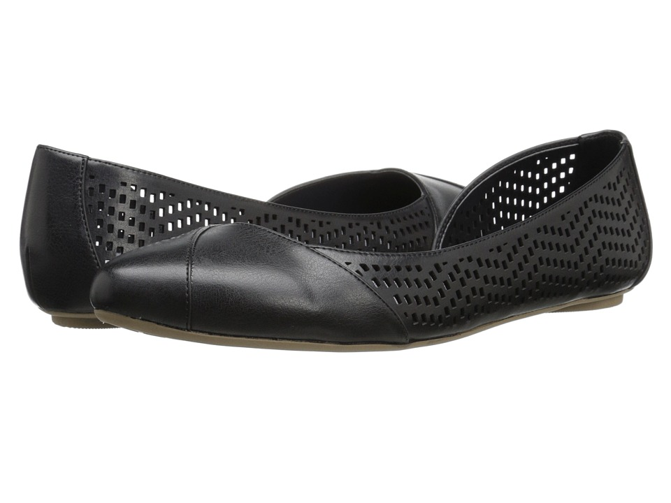 Dr. Scholl's - Reena (Black Chop Out) Women's Slip on Shoes