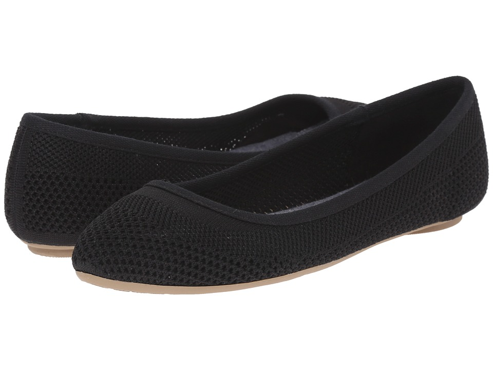 Dr. Scholl's - Refreshment (Black Knit Mesh) Women's Slip on Shoes