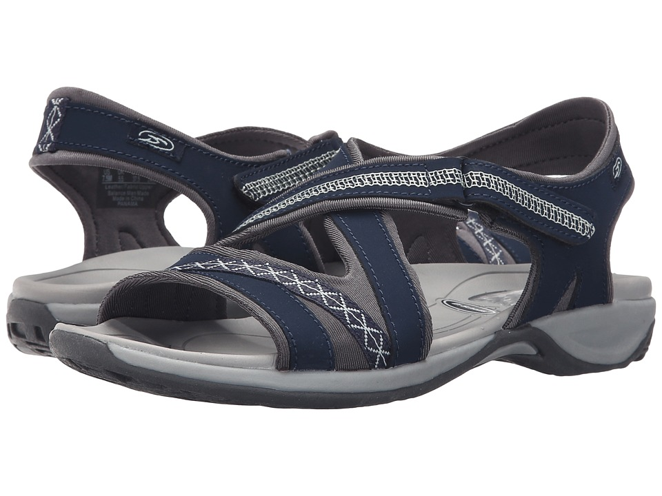 Dr. Scholl's - Panama (Navy Leather) Women's Sandals