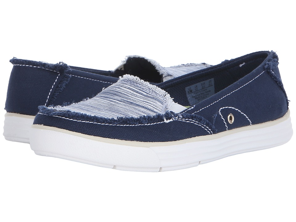 Dr. Scholl's - Waverly (Navy Canvas/Harmony) Women's Lace up casual Shoes