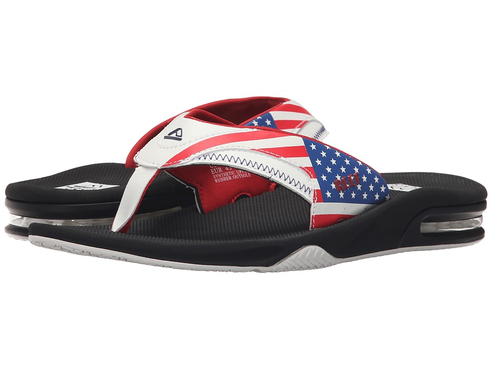 Reef - Fanning Prints (Stars & Stripes 2) Men's Sandals