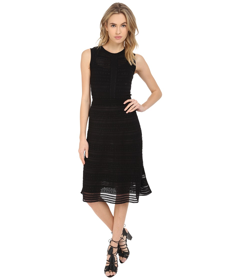 M Missoni Sold Rivit Stitch Dress (Black) Women