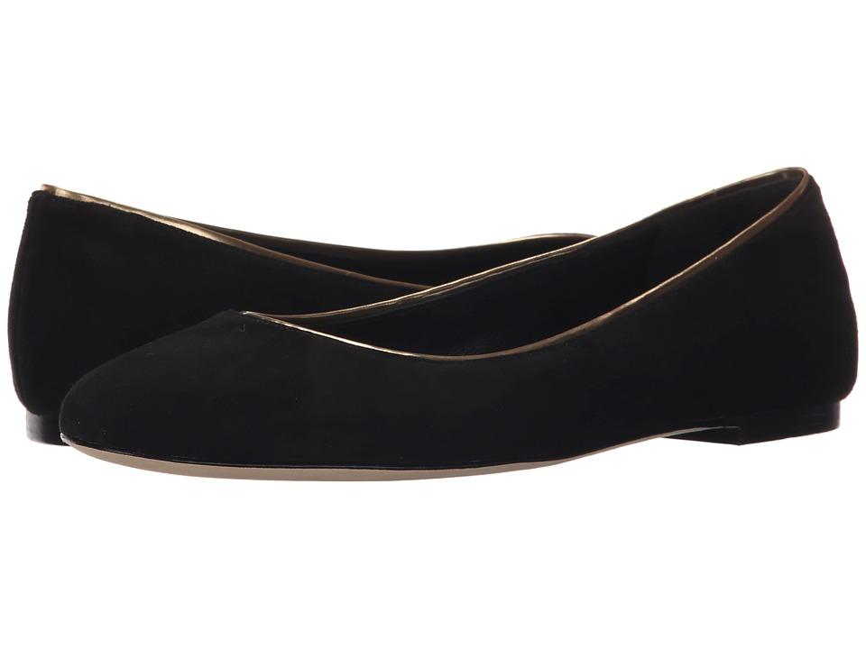 Diane von Furstenberg - Cambridge (Black Kid Suede) Women's Sandals