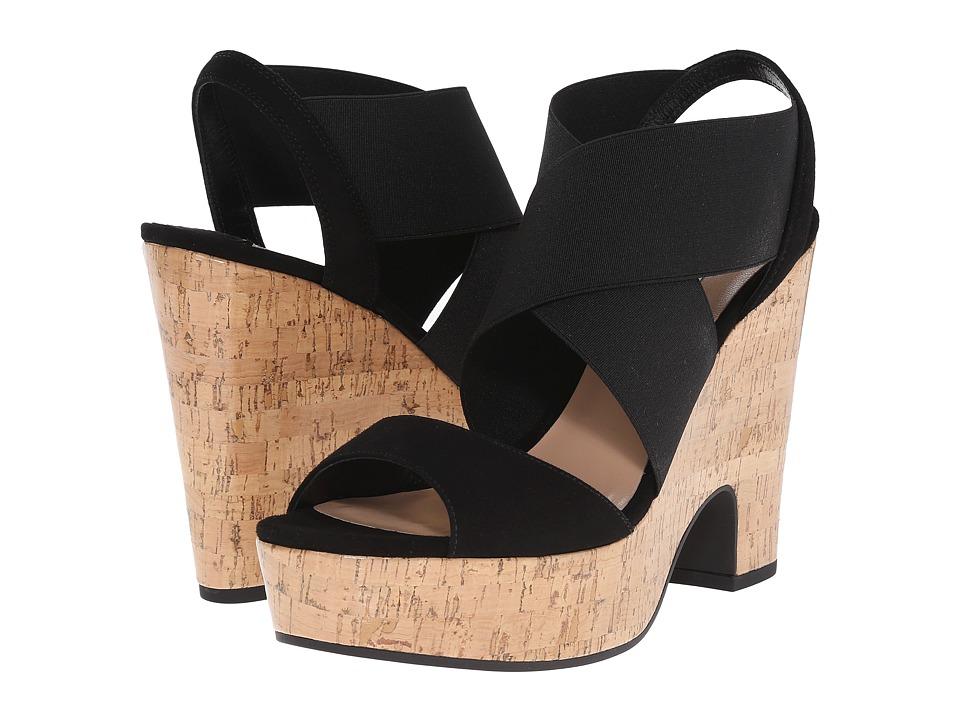 Diane von Furstenberg - Deetra (Black Kid Suede) Women's Shoes