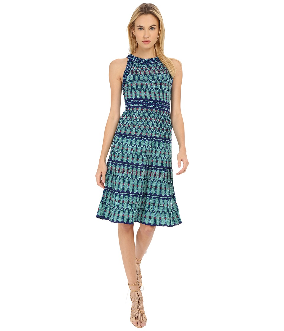 M Missoni - Crochet Dress (Mint) Women's Dress