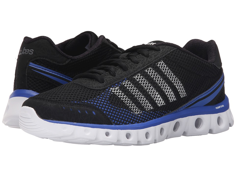 K-Swiss - X Lite Athletic CMF (Black/Electric Blue/White Mesh) Men's Cross Training Shoes