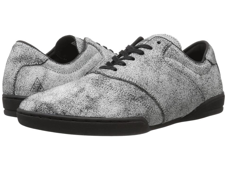 HUF - Dylan (Cracked White) Men's Skate Shoes