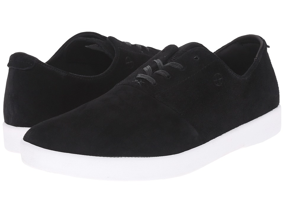 HUF - Gillette (Black 2) Men's Skate Shoes