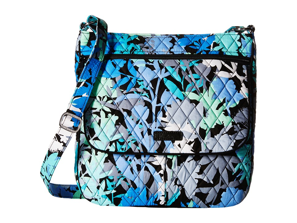 Vera Bradley - Double Zip Mailbag (Camofloral) Cross Body Handbags