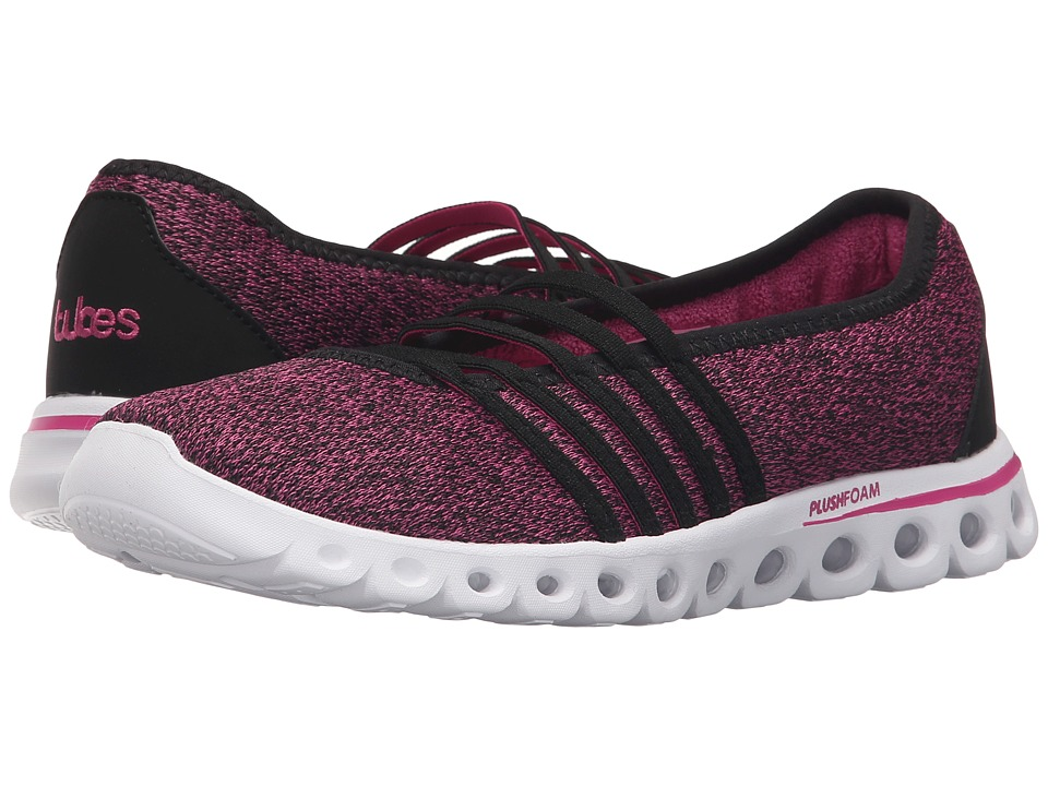 K-Swiss - X Lite MJ CMF (Black/Very Berry Textile) Women's Running Shoes