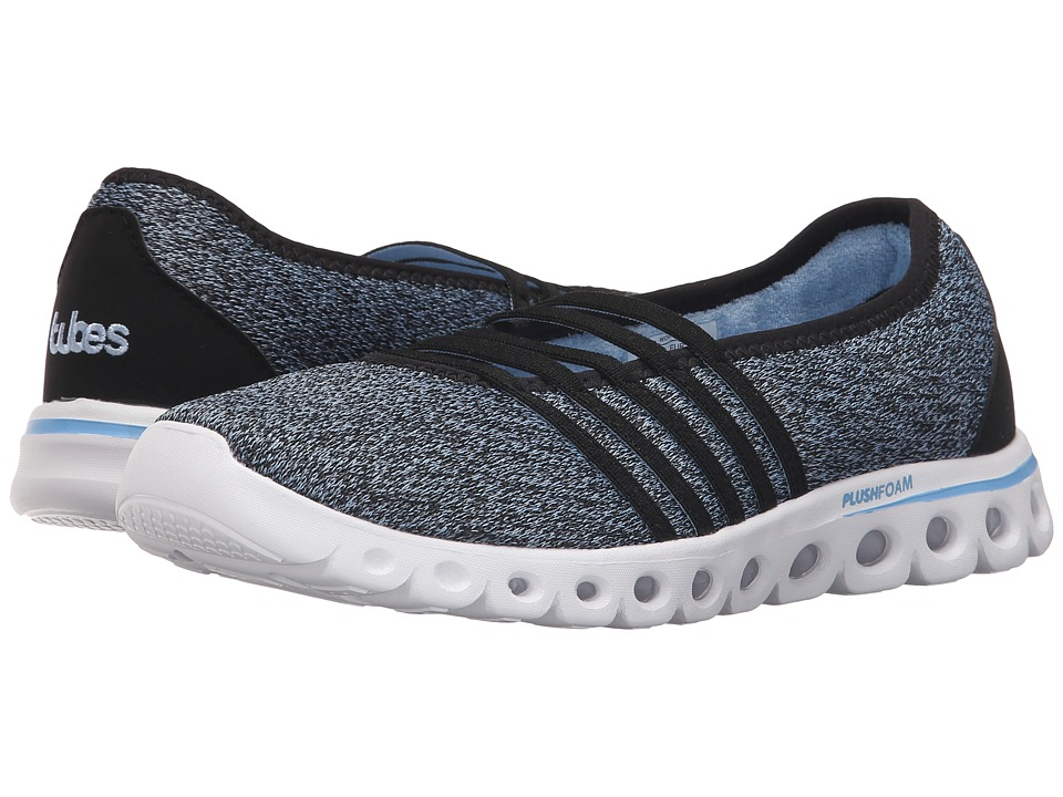 K-Swiss - X Lite MJ CMF (Black/Blue Bell Textile) Women's Running Shoes