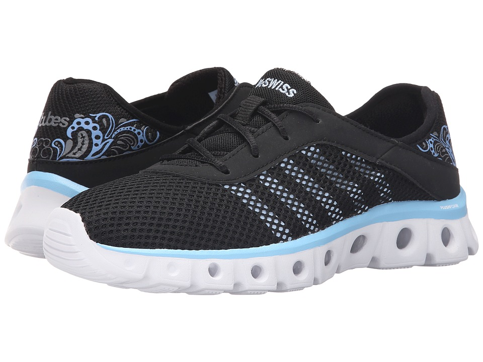 K-Swiss - X Lite Athleisure CMF (Black/Blue Bell Mesh) Women's Running Shoes