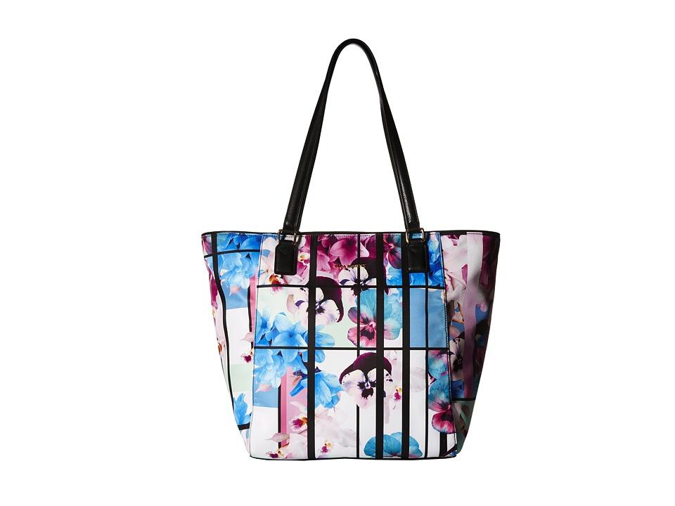 Vera Bradley - Ella Tote (Exotic Floral/Black) Tote Handbags