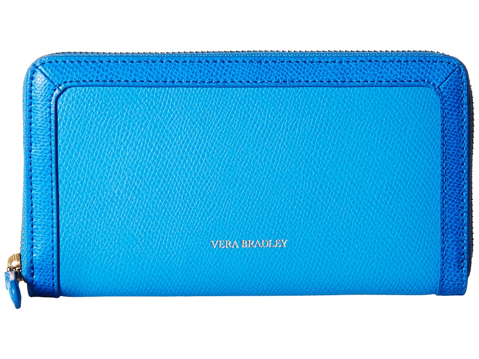 Vera Bradley - Georgia Wallet (Coastal Blue) Wallet Handbags