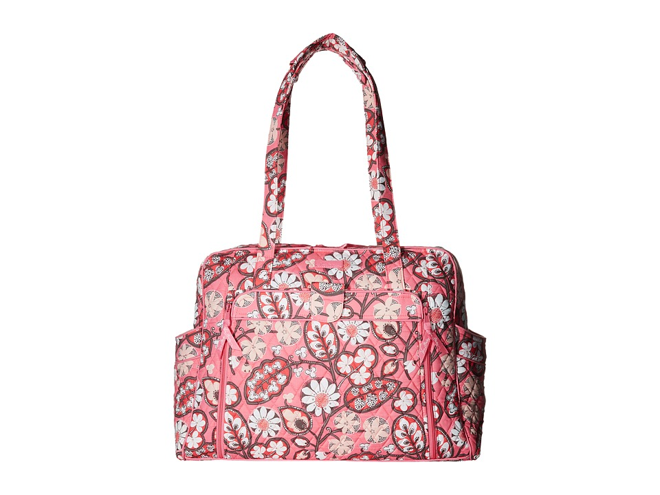 Vera Bradley - Large Stroll Around Baby Bag (Blush Pink) Bags