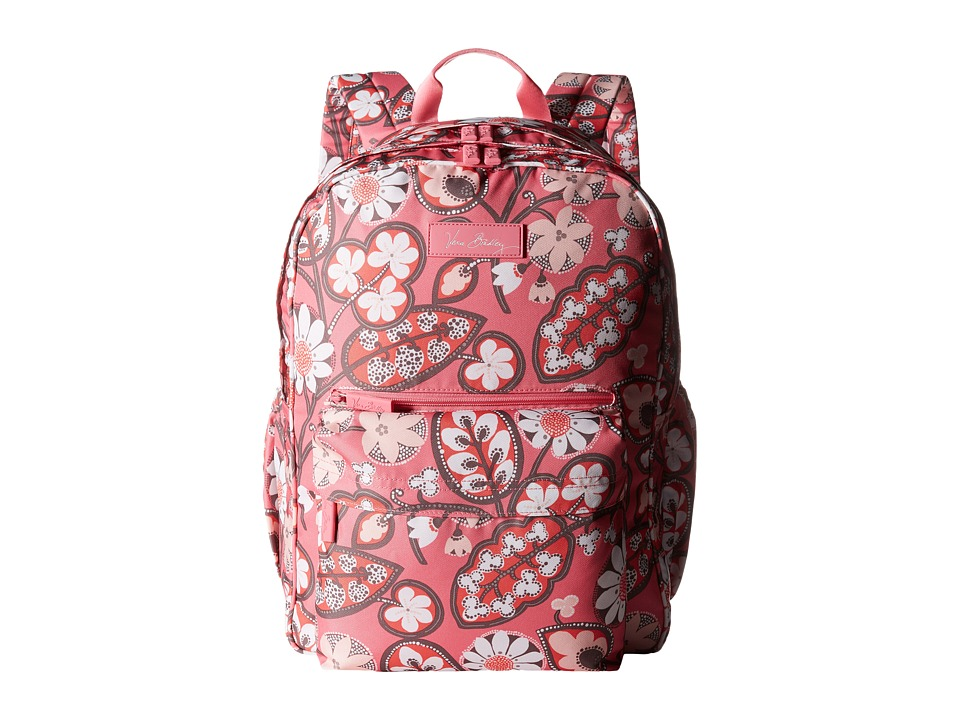 Vera Bradley - Lighten Up Grande Backpack (Blush Pink) Backpack Bags