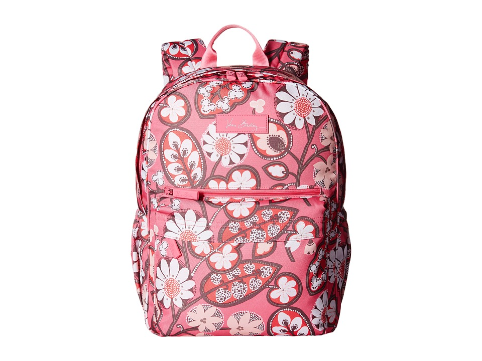 Vera Bradley - Lighten Up Just Right Backpack (Blush Pink) Backpack Bags