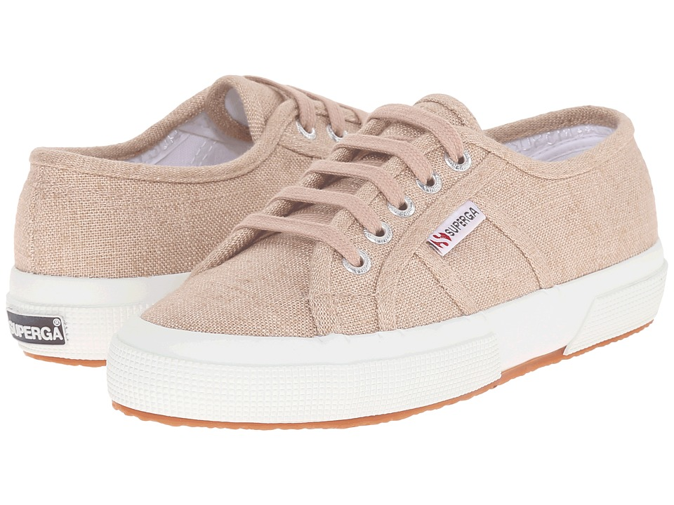 Superga - 2750 LINU (Burnt Sienna) Lace up casual Shoes