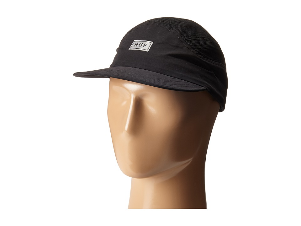 HUF - Bar Logo 7 Panel (Black) Caps