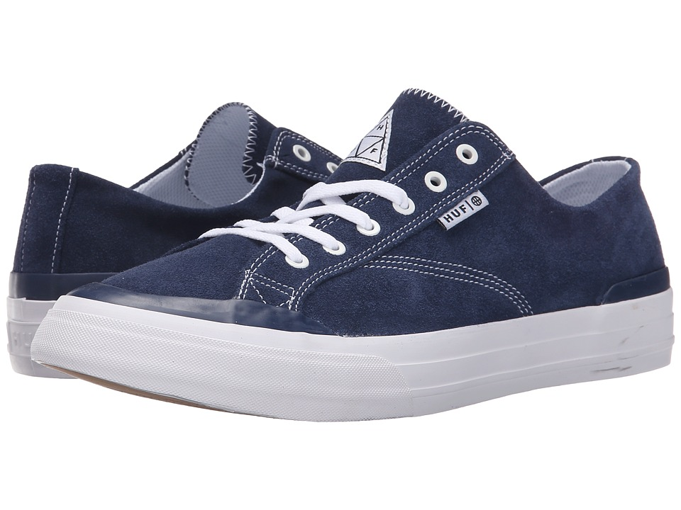 HUF - Classic Lo (Navy/White) Men's Skate Shoes