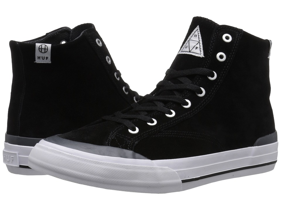 HUF - Classic Hi (Black/Slate) Men's Skate Shoes
